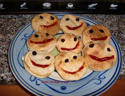 Smile di pasta di pane