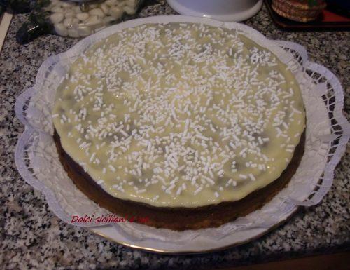 """Torta """" Bianco e nero """""""