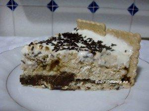 "Torta "" Bianca "" con biscotti Oro Saiwa"