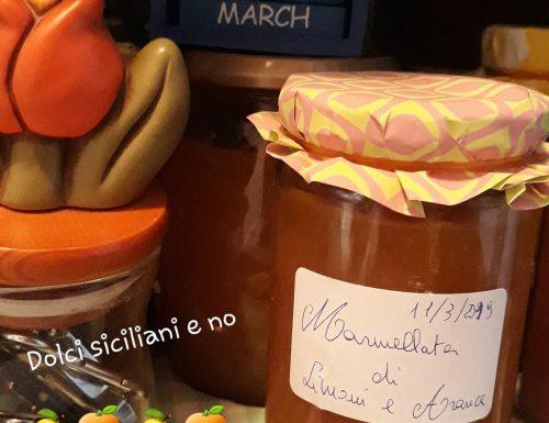 Marmellata di limoni e arance