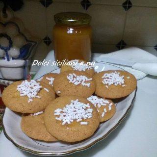 Biscotti con miele e granella