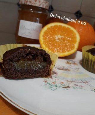 Dolcetti al cacao con marmellata