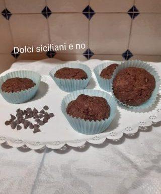 Biscotti al cacao con gocce di cioccolato