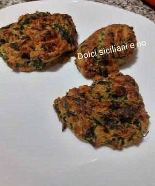 Frittatine con spinaci al forno