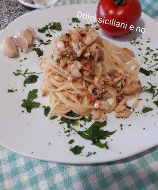 Spaghetti con triglie