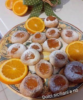 Cookies di avena con marmalade