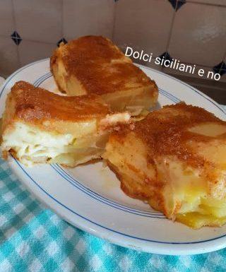 Plum cake salato di patate e formaggi