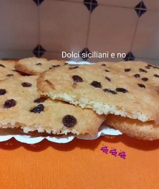 Cookies con uvetta